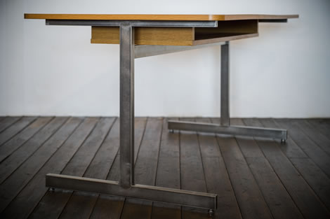 H LEG TABLE イメージ2