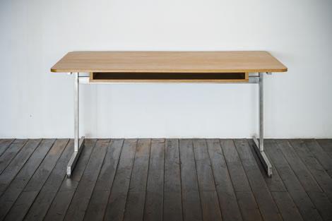 H Leg Table